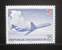 Poštovní známka Rakousko 1973 Douglas DC-9 Mi# 1413