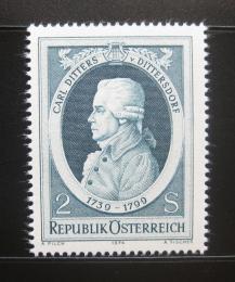 Poštovní známka Rakousko 1974 Carl Ditters, skladatel Mi# 1470 - zvětšit obrázek