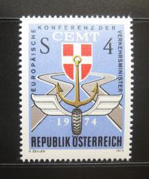 Poštovní známka Rakousko 1974 Dopravní kongres Mi# 1457 - zvětšit obrázek
