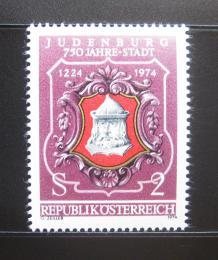 Poštovní známka Rakousko 1974 Judenburg, 750. výroèí Mi# 1447
