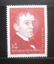 Poštovní známka Rakousko 1974 Karl Kraus, básník Mi# 1448 - zvětšit obrázek