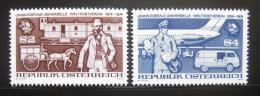 Poštovní známka Rakousko 1974 UPU, 100. výročí Mi# 1466-67 - zvětšit obrázek
