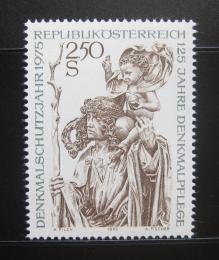 Poštovní známka Rakousko 1975 Architektonické dìdictví Mi# 1474