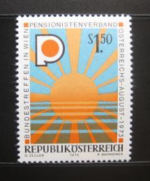 Poštovní známka Rakousko 1975 Asociace penzionistů Mi# 1490 - zvětšit obrázek