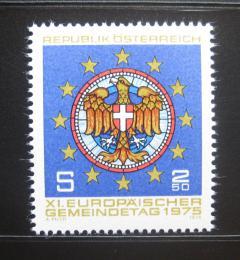 Poštovní známka Rakousko 1975 Kongres evropských mìst Mi# 1484