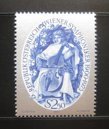 Poštovní známka Rakousko 1975 Vídeòský symfonický orchestr Mi# 1496