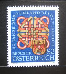 Poštovní známka Rakousko 1971 Erb Burgundska Mi# 1370