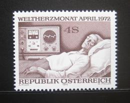 Poštovní známka Rakousko 1972 Svìtový den zdraví Mi# 1386