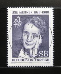 Poštovní známka Rakousko 1978 Lise Meitner, fyzièka Mi# 1588