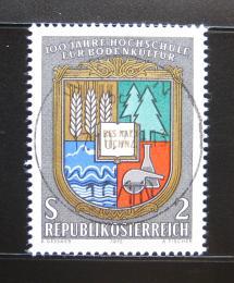 Poštovní známka Rakousko 1972 Zemìdìlská univerzita Mi# 1401