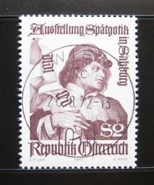 Poštovní známka Rakousko 1972 Výstava gotického umìní Mi# 1393