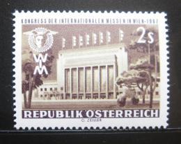 Poštovní známka Rakousko 1967 Kongres veletrhù Mi# 1247