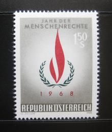 Poštovní známka Rakousko 1968 Rok lidských práv Mi# 1272