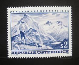 Poštovní známka Rakousko 1970 Horská scéna Mi# 1341