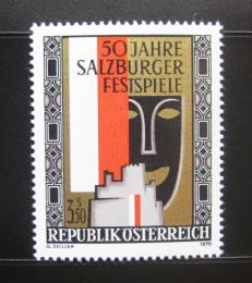 Poštovní známka Rakousko 1970 Salcburský festival Mi# 1335
