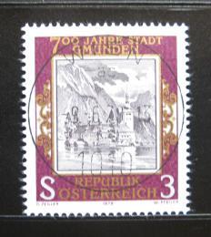 Poštovní známka Rakousko 1978 Gmunden, hrad Ort Mi# 1576