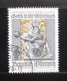 Poštovní známka Rakousko 1978 Gotické umìní Mi# 1575