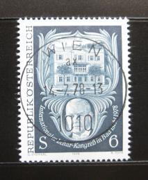 Poštovní známka Rakousko 1978 Leharùv kongres Mi# 1578
