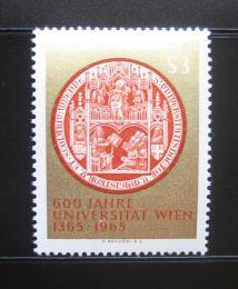 Poštovní známka Rakousko 1965 Vídeòská univerzita Mi# 1180