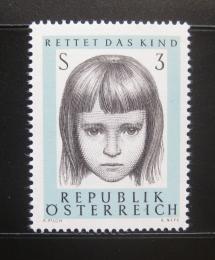 Poštovní známka Rakousko 1966 Ochrana dìtí Mi# 1222