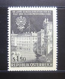Poštovní známka Rakousko 1966 Ústøedí PTT Mi# 1202