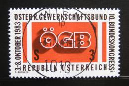 Poštovní známka Rakousko 1983 Kongres odborù Mi# 1754