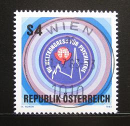 Poštovní známka Rakousko 1983 Kongres psychiatrù Mi# 1745