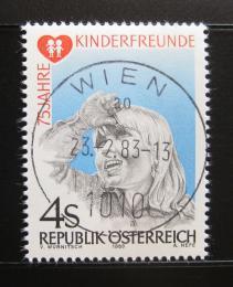 Poštovní známka Rakousko 1983 Organizace dìtského pøátelství Mi# 1732