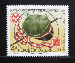 Poštovní známka Rakousko 1983 Organizace studentù katolíkù Mi# 1739