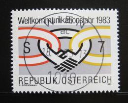 Poštovní známka Rakousko 1983 Svìtový rok komunikace Mi# 1731