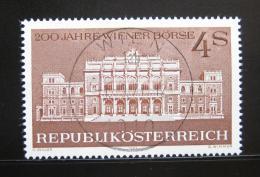 Poštovní známka Rakousko 1971 Vídeòská burza Mi# 1367