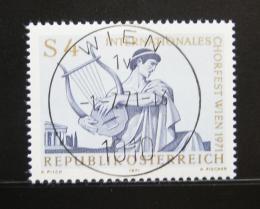 Poštovní známka Rakousko 1971 Festival sborù Mi# 1365