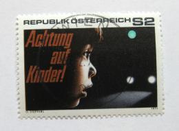 Poštovní známka Rakousko 1971 Bezpeènost silnièního provozu Mi# 1354