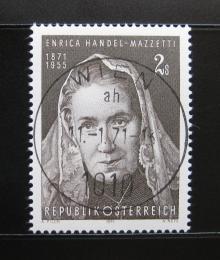 Poštovní známka Rakousko 1971 E. Handel-Mazzetti, básníøka Mi# 1353