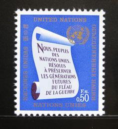 Poštovní známka OSN Ženeva 1969 Charta Mi# 5