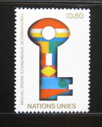 Poštovní známky OSN Ženeva 1980 Nový ekonomický øád Mi# 88