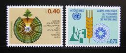 Poštovní známky OSN Ženeva 1981 Program dobrovolníkù Mi# 101-02