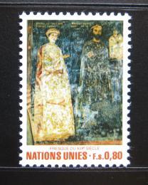 Poštovní známka OSN Ženeva 1981 Umìní Mi# 99
