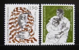Poštovní známky OSN Ženeva 1984 Budoucnost pro uprchlíky Mi# 124-25