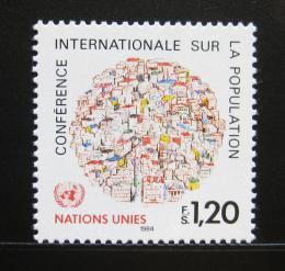 Poštovní známka OSN Ženeva 1984 Mezinárodní konference Mi# 119