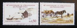 Poštovní známky OSN Ženeva 1985 Výroèí založení Mi# 133-34