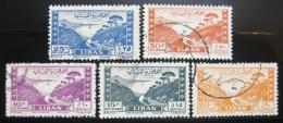 Poštovní známky Libanon 1949 Jounie Mi# 421-25 Kat 50€