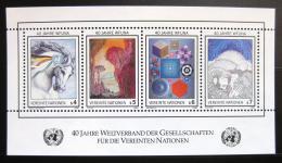 Poštovní známky OSN Vídeò 1986 Abstraktní umìní Mi# Block 4