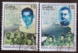 Poštovní známky Kuba 2003 Vojenské jednotky Mi# 4513-14