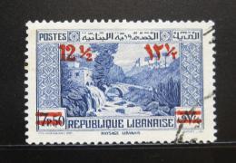 Poštovní známka Libanon 1939 Psí øeka pøetisk Mi# 249
