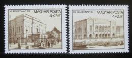 Poštovní známky Maïarsko 1983 Den známek Mi# 3632-33