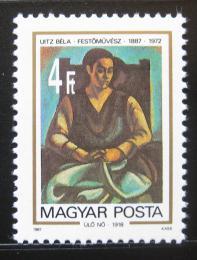 Poštovní známka Maïarsko 1987 Umìní, Bela Uitz Mi# 3883
