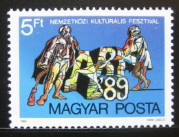 Poštovní známka Maïarsko 1989 ART exhibice Mi# 4018