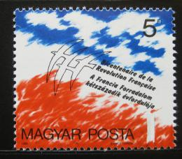 Poštovní známka Maïarsko 1989 Francouzská revoluce Mi# 4024