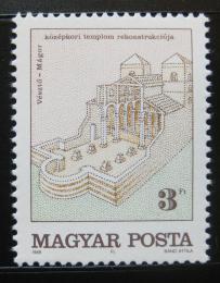 Poštovní známka Maïarsko 1989 Starý kostel Mi# 4026